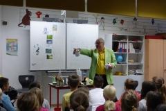 Herr Hecker hat Froschzwillinge dabei.